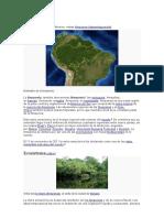 Amazonia(Flora y Fauna)
