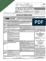 Diario Oficial El Peruano, Edición 9353. 06 de junio de 2016