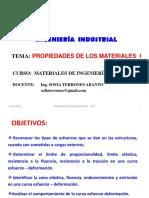 CLASE 3 Propiedades de Los Materiales UNT 2016 I