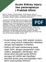 Jurnal - Definisi Acute Kidney Injury (AKI)