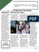 Gardening on the Edge Newsletter, April 2006 ~ Monterey Bay Master Gardeners