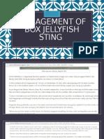 Management of Box Jellyfish Sting