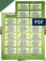 Calendrier 2016 - 2017 de Ligue 2