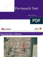 LTE-A Pre-Launch Performance Test Report.