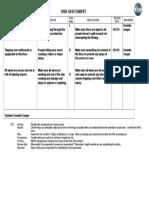 risk assessment form 1111
