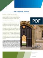 ACI Toolkit Evaluation of External Auditor