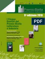 Locandina Ufficiale Biella Letteratura e Industria 2010