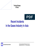 Recent Incidents in the Gases Industry in Asia
