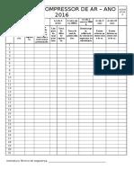 Check List Compressor de Ar