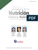 Enciclopedia de Nutricion Felina