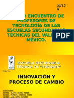 PRIMER ENCUENTRO DE PROFESORES DE TECNOLOGÍA DE LAS