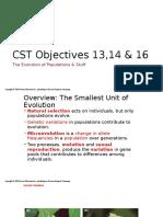 23 evolution of populations