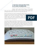 Cara Mengatasi Koneksi Internet Mati Pada Modem Speedy TP LINK TD.docx