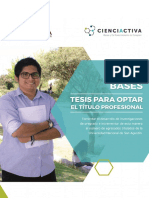 Bases Tesibasess Para Optar Titulo Profesional Web