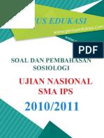 Soal Dan Pembahasan UN Sosiologi SMA IPS 2010-2011
