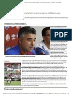 Com Dúvidas No Time, Alexandre Gallo Sinaliza Mudanças No Náutico Para Enfrentar o Paysandu - Superesportes