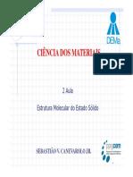 2 Aula CM PPG-CEM Estado S+¦lido Polimeros
