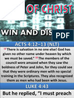 Dna of Christ Win and Disciple 040616 Apostle Sarah Edited