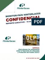 Monitor País (15)  OLP- Al 18 Mayo 2016
