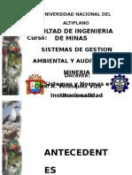 II. Principios Sistemas Normas Institucionalidad
