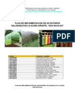 Implementacion Areas Verdes