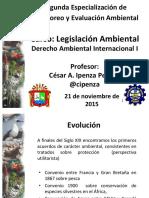 III. Derecho Ambiental Derecho Internacional