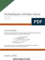 Aula - Multiplexação e Múltiplo Acesso (FDM TDM)