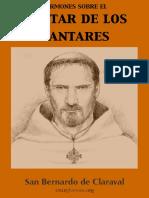 San Bernardo de Claraval Sermones Sobre El Cantar de Los Cantares
