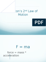 05 newtons 2nd law notes