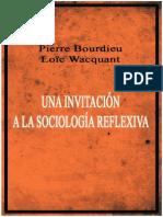 Bourdieu y Wacquant
