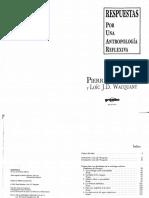 Pierre Bordieu. Respuestas -Antropologia (1)