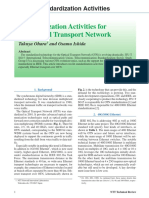 Standardization Activities for the Optical Transport Network