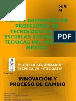 PRIMER ENCUENTRO DE PROFESORES DE TECNOLOGÍA DE LAS EST