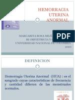Hemorragia Uterina Anormal Patologia