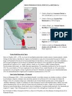 Territorios Perdidos Por El Perú en La Republica