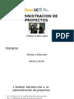 1)Presentación 1 ADP