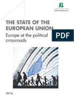 THE STATE OF THE EUROPEAN UNION 2016
