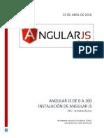 2- Instalacion de Angular JS