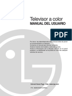 Manual Televisor Lg 29fs4rk Chassis-cw62c