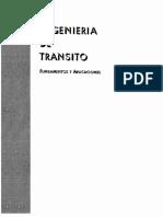 Ingenieria Del Transito-cal y Mayor