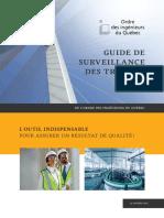 Guide de Surveillance Des Travaux - OIQ