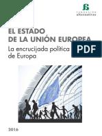EL ESTADO DE LA UNION EUROPEA 2016