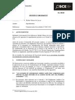040-16 - Pre - Mirtha Velasco de Lacca - Impedimentos