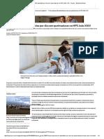 Cinco Pessoas São Atendidas Por Dia Com Queimaduras No HPS João XXIII - Gerais - Estado de Minas