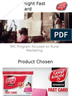 Integrated Marketing Communication Plan for Good Knight Fast Card