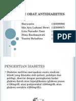 Ppt Interaksi Obat Antidiabetes