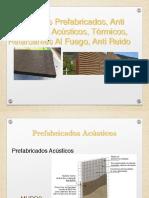 Acusticos y Termicos EXPO