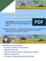 Saskatchewan ECD overview