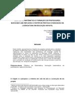Didática Da Matemática e Formação de Professores