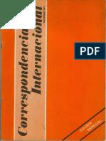 Correspondencia Internacional - Especial (Nov-81)